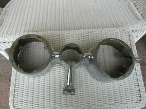 Large Vintage 1959 Oldsmobile Headlight Bezel Rat Rod Sled Cool
