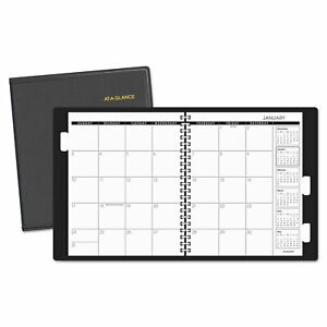 At a glance Refillable Multi year Monthly Planner 11 X 9 White 2019 2021 7023605