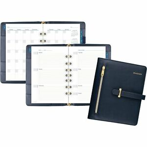 At a glance Planner Starter Set Undated 5 1 2 x8 1 2 Page Size Navy Dr111804020