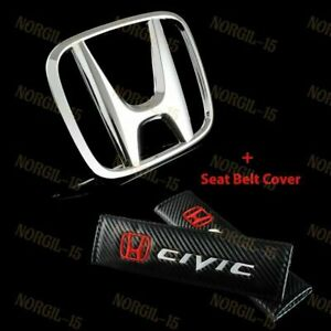 New Front Grill h Emblem Combo For Honda Civic 2010 2011 2012 2013 2014 2015