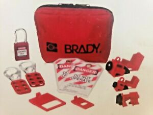 Brady Electricians Personal Lockout Kit 1881775 1 Kit New Electrical