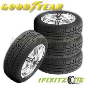 4 Goodyear Excellence 245 45r18 96y Rof Summer Grand Touring Run Flat Tires