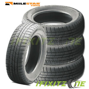 4 Milestar Weatherguard Aw365 All Season 225 50r17 98h 3pmsf Snow Rated Tires