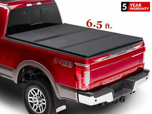 6 5 Ft For 2015 2021 Ford F150 Hard Tri Fold Pickup Truck Bed Cover