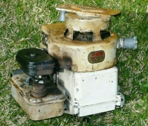 Vintage Briggs Stratton 3 Hp Model 80906 Wind Up Easy Spin Engine For Parts