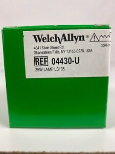 Welch Allyn Brand 04430 u Replacement Bulb For Ls135 ls150 Lamp a3