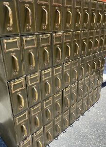 Vintage Industrial Catalog Style Filing Cabinet 40 s 50 s
