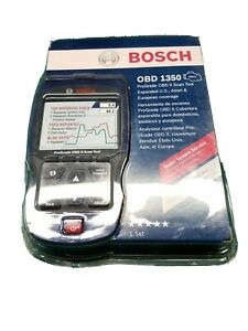 new bosch 1350 Prograde Scan Tool Obd2 Abs Airbag Srs Live Data oil Reset