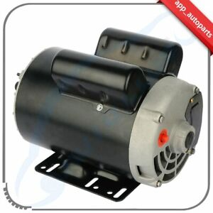 5 Hp Spl 3 5hp Air Compressor Duty Electric Motor 56 Frame 3450 Rpm 1 Phase