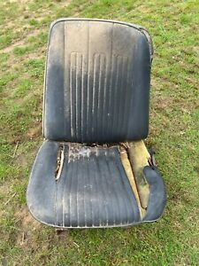 1968 Pontiac Gto Chevelle Ss Olds 442 Gs Oem Black Strato Bucket Seats Pair