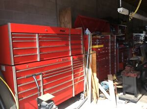 Snap On Snapon Snap On Krl Top Chest And Bottom Cabinet Triple Bank