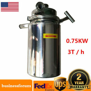 750w Stainless Steel Sanitary Pump Sanitary Beverage Milk Delivery Pump 3t h Us