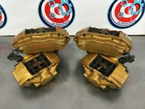 0sb0 2005 Nissan 350z Oem Set Of Front And Rear Brembo Brake Calipers