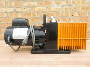 Alcatel Rotary Vane Dual 2 Two Stage Vacuum Pump Model 2008 A Tested