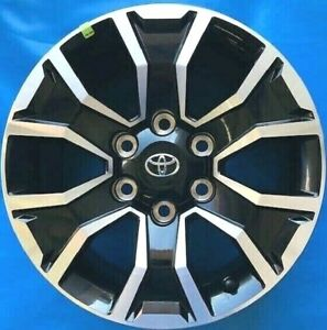 Toyota Tacoma 2020 Oe Wheels 4 Genuine Oem Rims Machine Black 17x7 5 6x139 7