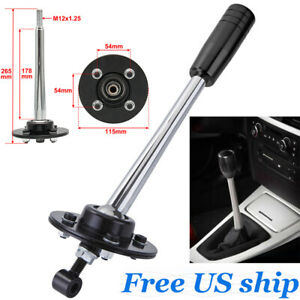 Drift Tuning Adjustable Short Shifter With Black Knob For Bmw E30 E36 E39 Z3 New