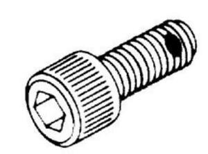 1 4 28 Socket Head Cap Screw W Nylon Pellet Replacement Oem Part 046705 061