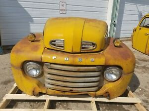 1948 1949 1950 Ford F6 Truck Front Clip Shipping Included See Description