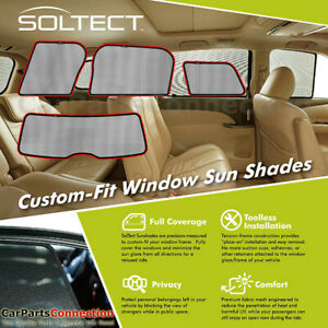 3d S1mn0180 For Mini Countryman 17 20 Soltect Sunshade Side And Rear Window
