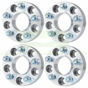 4pcs 1 5 38mm Thick 5x4 5 1 2 X20 Wheel Spacers For 2006 2012 Jeep Liberty