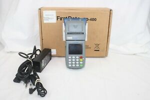 First Data Fd 400 In Origial Box With Power Supplies Tested