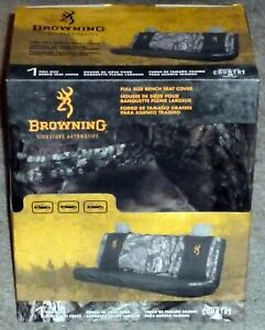 Browning Buckmark Full Siz Bench Seat Cover Mossy Oak Break Up Country Universal