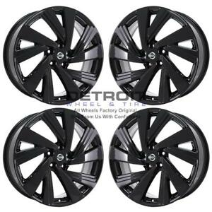 20 Nissan Murano Gloss Black Exchange Wheels Rims Factory Oem 62707 2014 2020