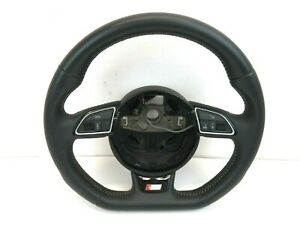 2011 Audi A5 S Line Steering Wheel Leather Flat Bottom Coupe 11