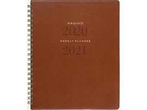 At a glance 2020 2021 8 38 X 11 Academic Planner Signatur Yp905a 09 21
