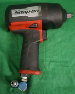 Snap On Pt850 1 2 Drive Super Duty Air Impact Wrench Blue Point Swivel Adapt