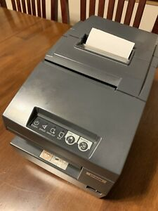 Epson Tm h6000iii M147g Usb Serial Pos Thermal Receipt Printer Excellent