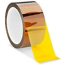 50mm X36yd Kapton Polyimide Silicone High Heat Resistant Tape 2 5mil Thick K201