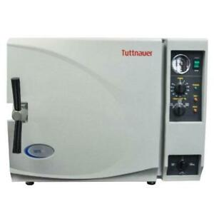 Tuttnauer 3870m Large Capacity Autoclave Manual Refurbished