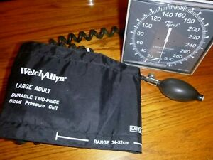 Welch Allyn Large Adult 2 Piece Blood Pressure Wall Unit