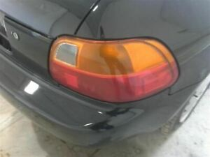 Passenger Right Tail Light Fits 93 97 Del Sol 2160357