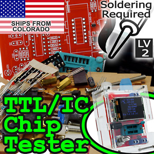 Gm328 Ic ttl Transistor Tester With Clear Case Component Tester