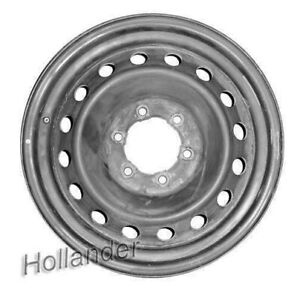 07 13 Tahoe Wheel 17x7 5 Steel Factory Oem Full Size Spare Rim