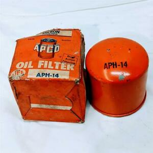 Vintage New Apco Aph 14 Oil Filter For 1962 Chevrolet Chevy Ii 4 Cylinder Ph14