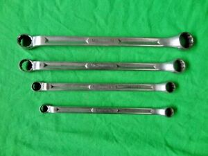 Snap On Xv Double Box End 12pt Wrench Angle Offset Sae Set 3 8 7 16 9 16 5 8 3 4