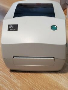 Zebra Gc420t Thermal Shipping Label Printer Usb Parallel Replaced Tlp2844