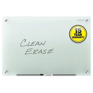 Glass Whiteboard Non magnetic Dry White Board 4 X 3 Frosted Surface Infinity