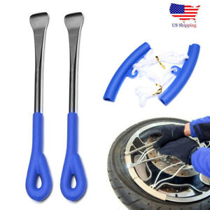 4 Tire Change Tool Kit With Spoon Lever Rim Protector For Motorcycle