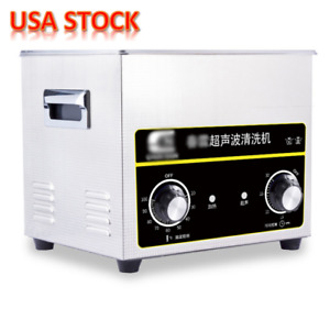 3 2l Sonic Ultrasonic Cleaner Heater Stainless Steel Necklace Cleaning Equipment