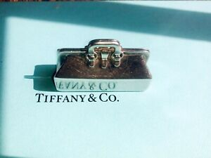 Rare 94 Retired Tiffany Co Sterling Silver Doctor Medical Bag Pill Box Case Box