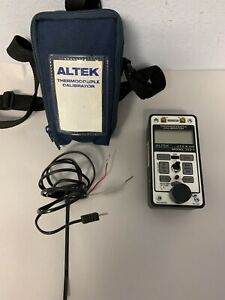 Altek 322 1 Thermocouple Indicator calibrator With Case