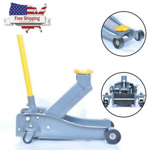 3 Ton Floor Jack Heavy Service Arcan Duty Steel Low Profile Pump Rapid Car Good