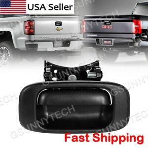 Tailgate Handle And Bezel For 1999 2006 Chevrolet Silverado Gmc Sierra Sierra