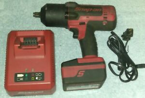 Snap on Ct8850 1 2 Monster Lithium Impact Wrench 18v Used Bundle W Battery