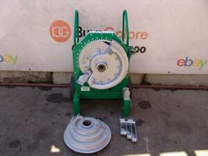 Greenlee 555 1 2 2 Inch Pipe Bender Rigid Emt Or Imc Comes With Rigid Shoes