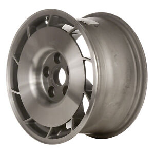 Passenger Side Aluminum Wheel 16x8 5 Gunmetal Gray 10 Slot 5x4 75 Bolt Pattern